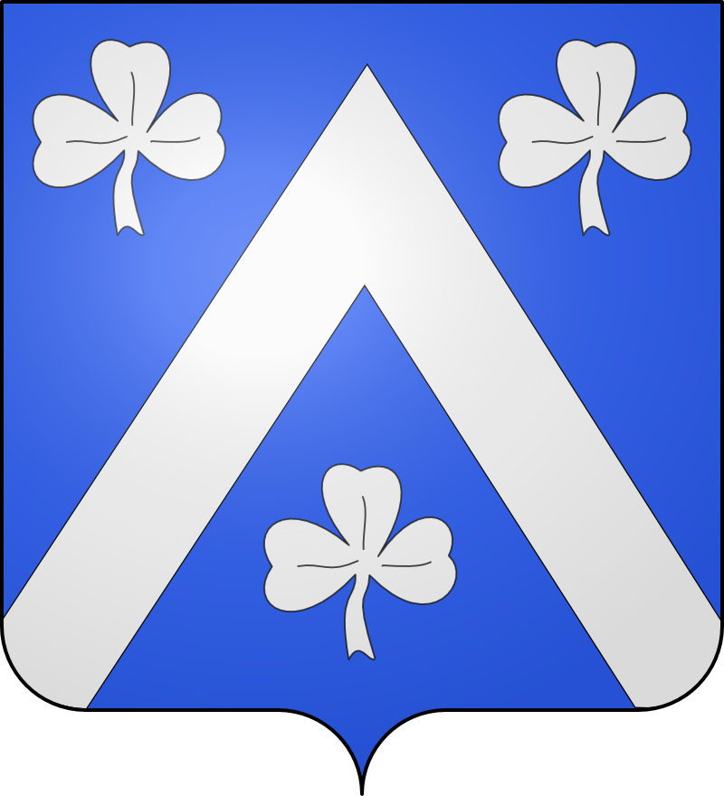 Armes de Descamps / des Camps / des Champs / Deschamps